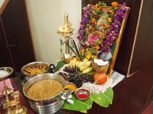 Altar en el Hotel