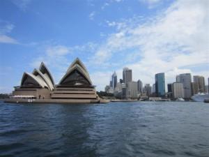 Opera House y rascacielos