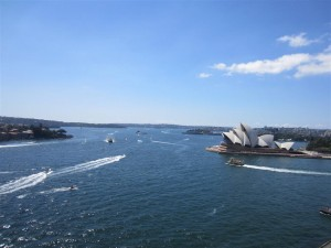 Vistas desde Harbour Bridge