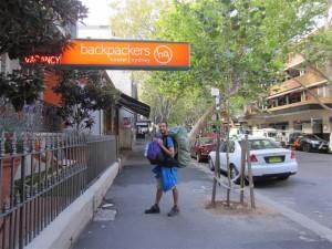 Calle de los mochileros