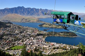 Salto con vistas a Queenstown