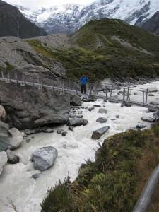Puente sobre hooker valley