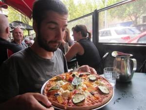 Una pizza deliciosa!