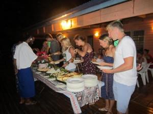 Buffet estilo fiiano