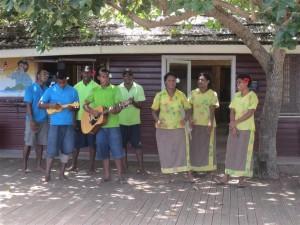 Hospitalidad fijiana en Naviti