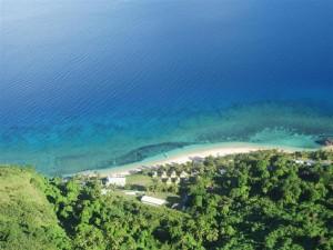 Vistas desde la cima de Waya Lailai (II)