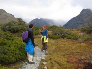 Buscando el camino en Fiordland
