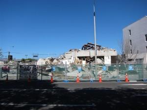 Centro de Christchurch (tras el terremoto)