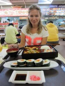 Un poco de comida japonesa, rica en Omega 3