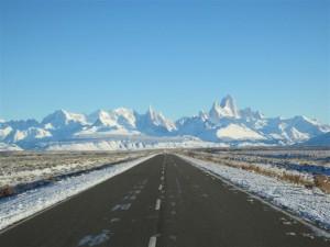 De camino al Chaltén
