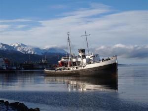 Barco en Ushuaia