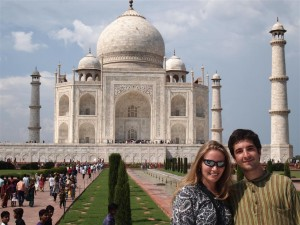 En el Taj Mahal (número 3)