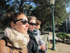 Contemplando la Plaza San Martín