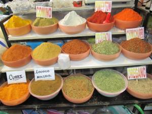 Colores en el mercado de Salta