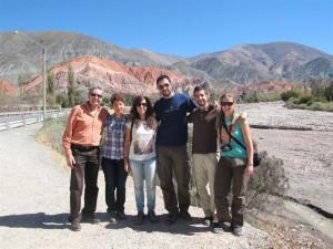 Al fondo, el Cerro de los 7 Colores, Purmamarca