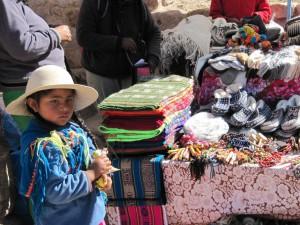 Mercadillo en Humahuaca