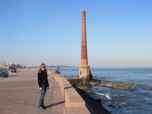 Junto al Atlántico en Montevideo
