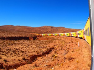 Paisajes espectaculares en el Tren a las Nubes
