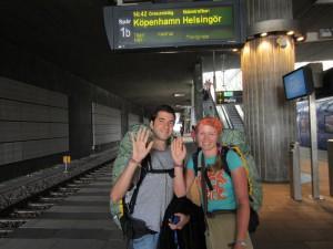 Un 3 de agosto de 2011, a punto de iniciar nuestra aventura