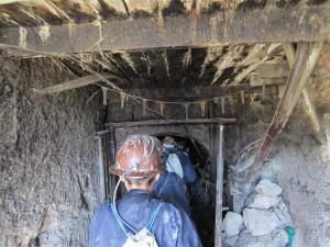 Entramos a la mina