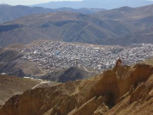 Vista de la ciudad desde el cerro