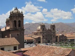 Vista de la Plaza de Armas
