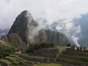 El Machu Picchu entre las nubes