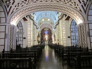 Una de las numerosas iglesias de la ciudad