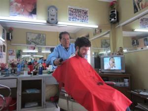 En la peluquería (ya era hora)