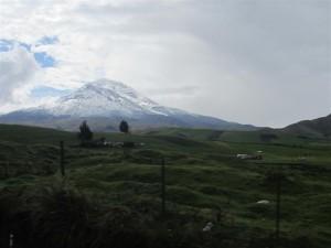 Volcán Chimborazo (a 6.310 metros)