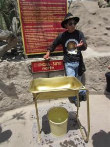 Experimentando en el ecuador