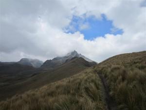 Sendero al Pichincha