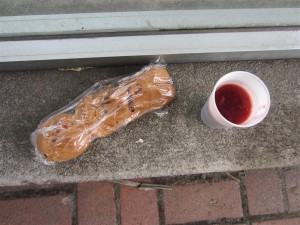 Guagua de pan y colada morada