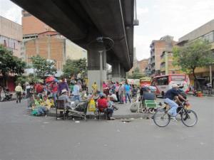 Bullciosas calles de Medellín