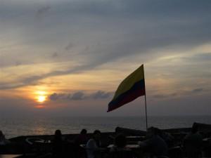Puesta de Sol en Cartagena (dedicada a la Tía Pili)