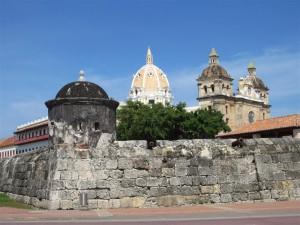 Vista de la Muralla de Cartagena