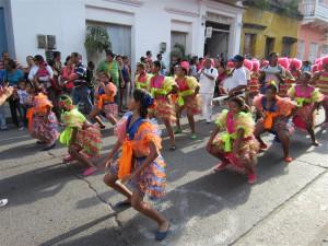 Desfile callejero