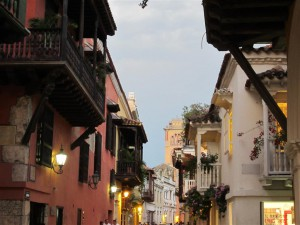 Balcones en el casco antiguo
