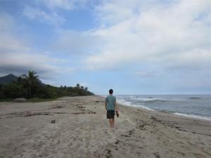 Playa de Palomino (¡ni un alma!)