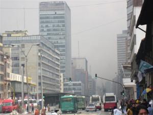 Un poco de polución...