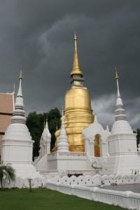 Uno más de los templos de Chiang Mai