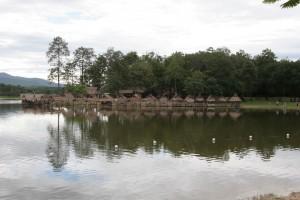 Paseando por el lago