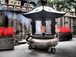 Incienso en Lingyin