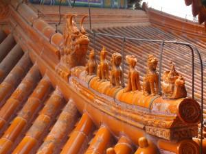 Guardianes de la casa, en el tejado