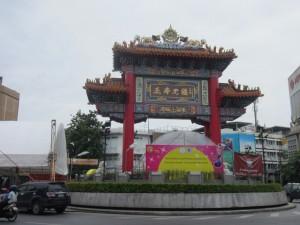 Entrada a Chinatown, Bangkok