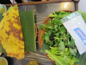 Deliciosos crepes de Vietnam