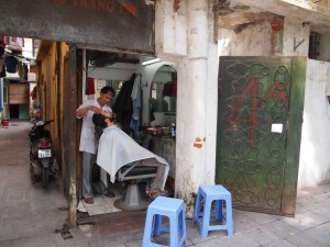 Visitando al Barbero